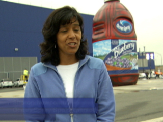 24,000 lb, 38 ft Tall Blueberry Juice Bottle Ushers in Era of Blue for the Cranberry Cooperative