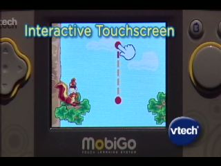 VTech® Launches MobiGo™, Combining Mom's Touch Screen Technology With Kid-Friendly Edu-Gaming