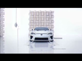 """In a new commercial, Lexus puts the LFA supercar to the """"glass test"""""""