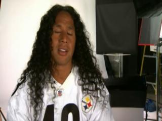 head & shoulders Insures Troy Polamalu's Hair