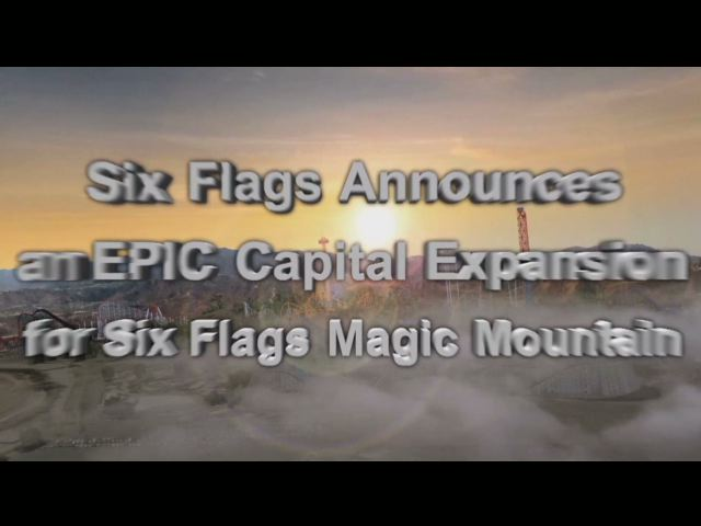 Six Flags Magic Mountain Recaptures Coveted World Record of More Coasters than Any Other Theme Park on the Planet!