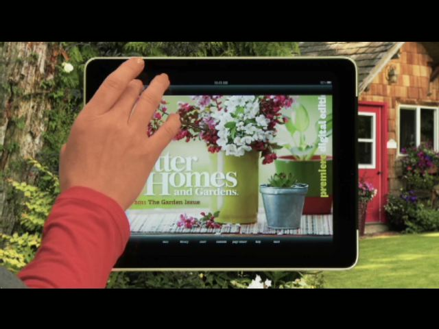 Meredith Corporation Launches Tablet Editions of Better Homes and Gardens, Parents and Fitness Brands on iPad