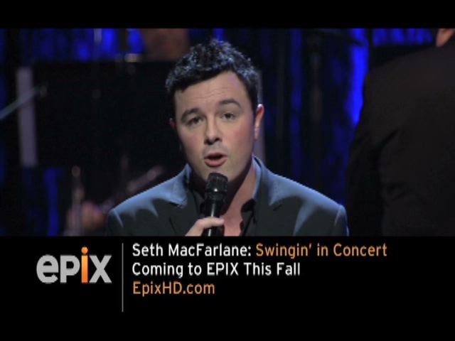 Seth MacFarlane is Better Than Words on EPIX