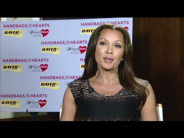 Don't Leave Home Without It: Vanessa Williams, Bayer HealthCare and WomenHeart Launch Handbags & Hearts to Urge Women to Make Over Their Handbags to Include Aspirin and Be Better Prepared for a Heart Attack