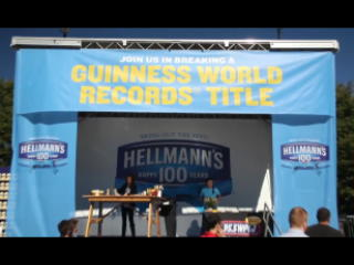 Hellmann's® To Break Guinness World Records Title For World's Longest Picnic Table At Centennial Celebration
