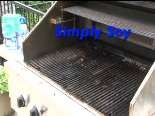 How to easily and efficiently clean your grill the green way!