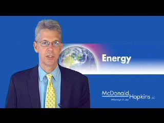 A Video Message about Decreasing Your Energy Costs: Michael W. Wise, Co-Chair Energy Practice