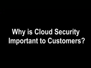 IBM Takes Action to Secure the Cloud  - Harold Moss, IBM's Emerging Technology and Cloud Computing Architect, discusses the growing adoption of cloud computing, and the steps IBM is taking to help customers make this new computing model more secure.