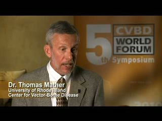 Professor Thomas Mather speaks about the importance of protecting pets against canine vector-borne diseases.