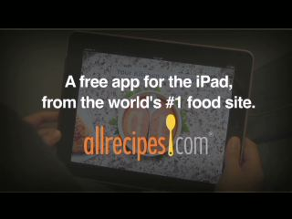Utility and Entertainment Come Alive in the Kitchen with Allrecipes.com Your Kitchen Inspiration iPad Application; The First Recipe App to Unlock the Power of Tablet Technology