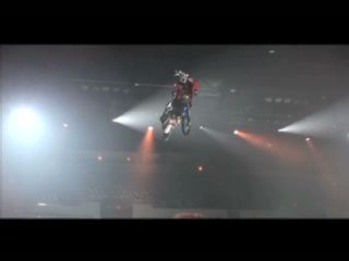 "Nuclear Cowboyz Ignite 2011 with Freestyle Chaos - the most explosive ""Show Down""; in the only high octane-fueled theatrical freestyle motocross touring production in the United States!"
