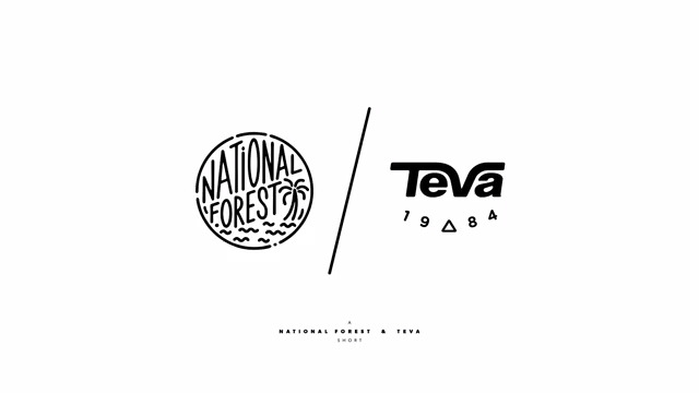 The new Teva Artist Series featuring artwork by National Forest, exemplifies individuality, creativity and the expression of freedom valued by the iconic footwear brand.