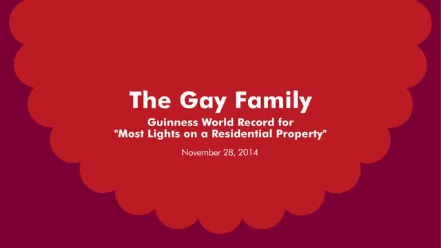 B-Roll: Gay Family of LaGrangeville, New York Breaks World Record with Support from RITZ Crackers