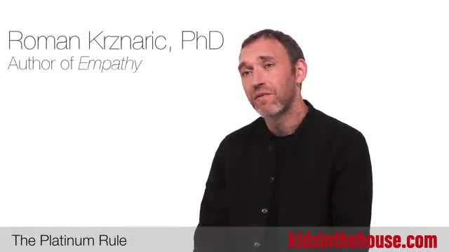 """Roman Krznaric explains the """"Platinum Rule"""" and how it can help you strengthen your relationships with family and friends."""
