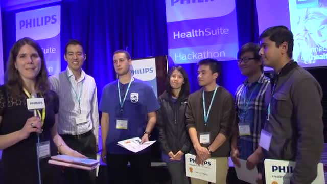 Health data analytics application 'MediDash' wins Philips HealthSuite Digital Hackathon