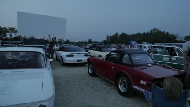 Hagerty Classic Cars magazine celebrates Collector Car Appreciation Day with classic car drive-in