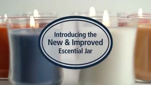 PartyLite takes its Escential Jar Candle to the next level by introducing a beautifully curved redesign, making the candle's fragrance experience better than before