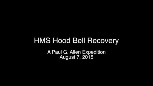 On 7 August, 2015, a Paul G. Allen expedition recovered the HMS Hood bell. The bell will be restored and returned to the British Royal Navy to memorialize the 1,415 men lost at sea.