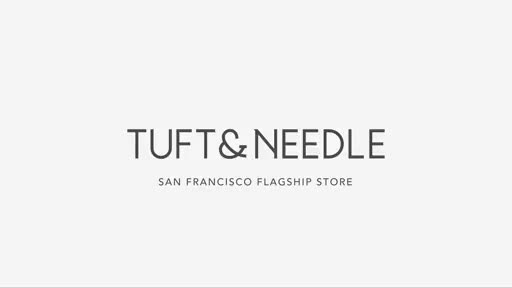 The Tuft & Needle Store is located at 637 King Street, San Francisco, CA. Video compliments of Tuft & Needle. For more information visit www.TN.com.