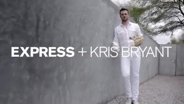 EXPRESS Signs Baseball Star Kris Bryant as Latest Brand Ambassador