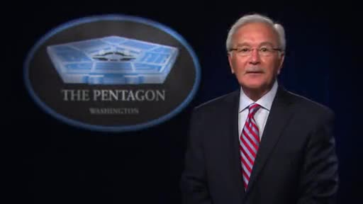 Steven E. Calvery, second director of the Pentagon Force Protection Agency, gives his farewell address after announcing his retirement after 10 years with the Agency.