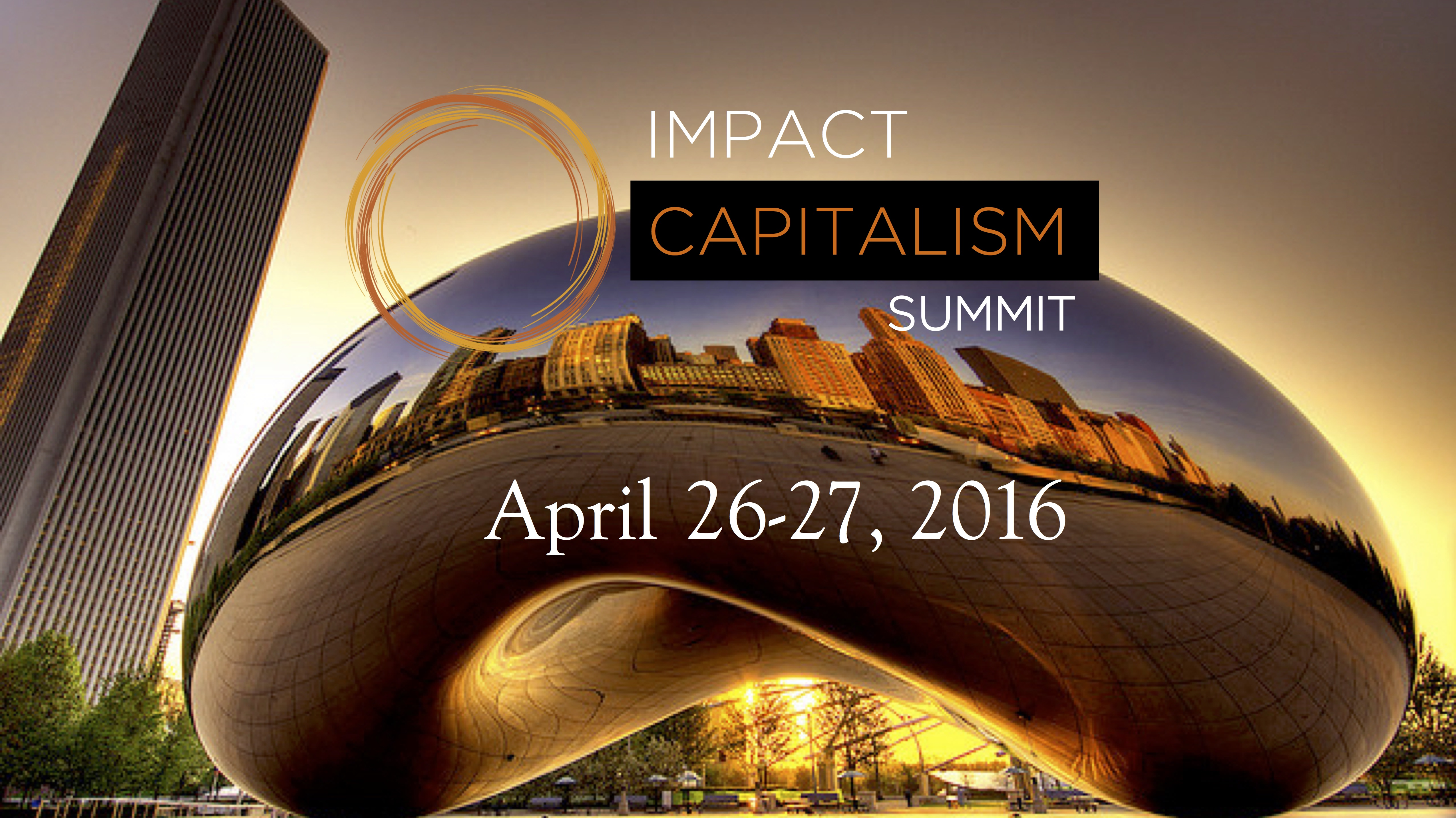 Impact Capitalism Summit | April 26-27