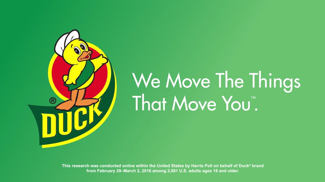 For more tips, how-to videos and Duck® brand products designed to help make your move easier, visit duckbrand.com/move-ship.