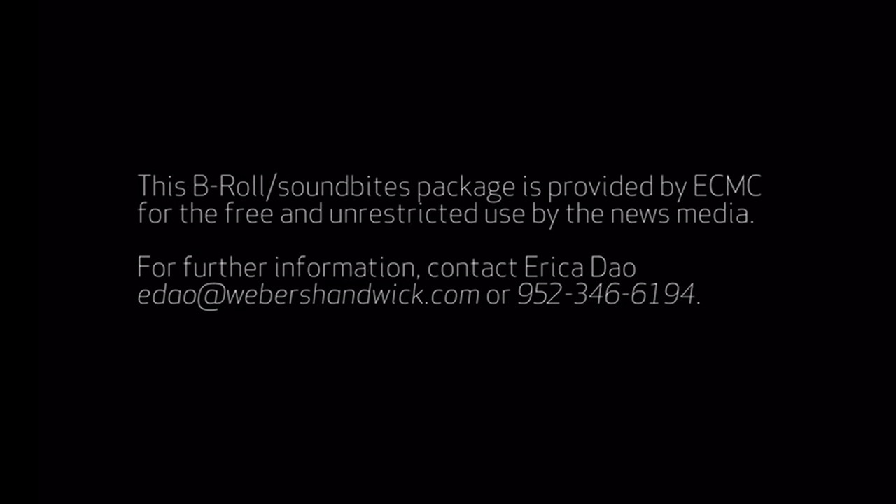 This B-roll package is available upon request. Please contact Erica Dao at edao@webershandwick.com.
