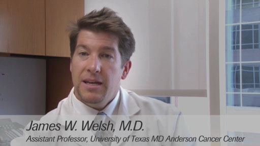 Dr. James W. Welsh, The University of Texas MD Anderson Cancer Center