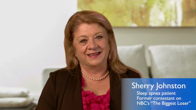 "Sherry Johnston, sleep apnea sufferer and former contestant on NBC's ""The Biggest Loser"", speaks about her experience with sleep apnea and how SleepMapper has helped."
