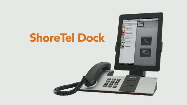 New ShoreTel Dock Transforms iPad and iPhone Into Desk Phone