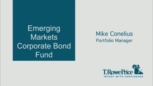 Portfolio manager Mike Conelius discusses the opportunities in emerging markets corporate bonds and the new fund's approach to investing in the sector.