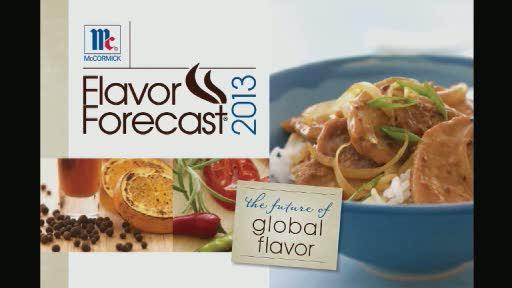 Flavor Forecast 2013 b-roll.