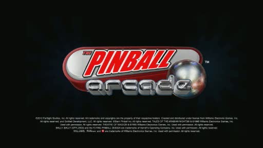 FarSight Studios is bringing their critically acclaimed pinball simulation to every major gaming platform. With many of the all-time greatest tables from Williams®, Bally™, Stern Pinball™, and Gottlieb™; The Pinball Arcade™ is set to become the most realistic and comprehensive pinball game ever created!!!