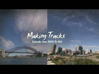 Australian guitarist Luke Webb and English cellist Desmond Neysmith Making Tracks in New South Wales and Western Australia. Neysmith is in Australia as part of the YouTube Symphony.