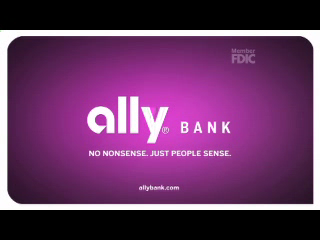 Ally Bank TV commercial