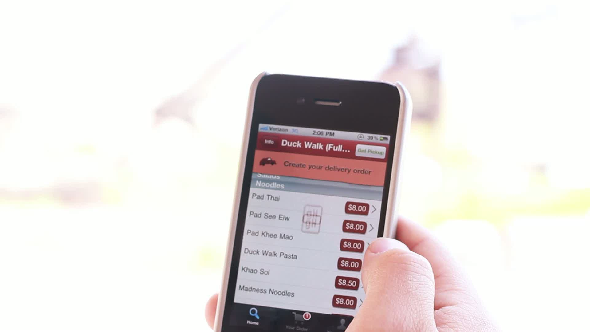 Introducing OrderHub, powered by GrubHub, the new in-restaurant technology that streamlines the ordering process.
