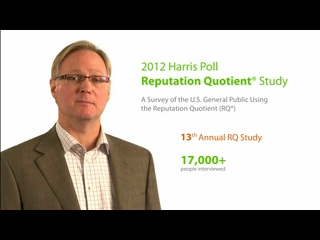 13th Annual Harris Poll Reputation Quotient® 2012 Executive Summary
