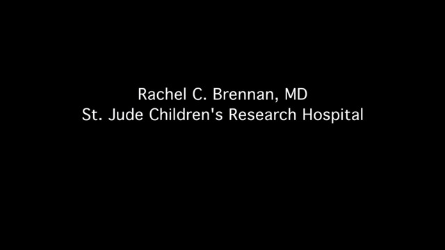 Rachel Brennan, M.D., an assistant member of the St. Jude Department of Oncology, discusses a topotecan-based chemotherapy regimen that should be considered front-line therapy for patients with advanced bilateral retinoblastoma; an eye cancer in young children. The research was published in the Journal of Clinical Oncology on October 10.