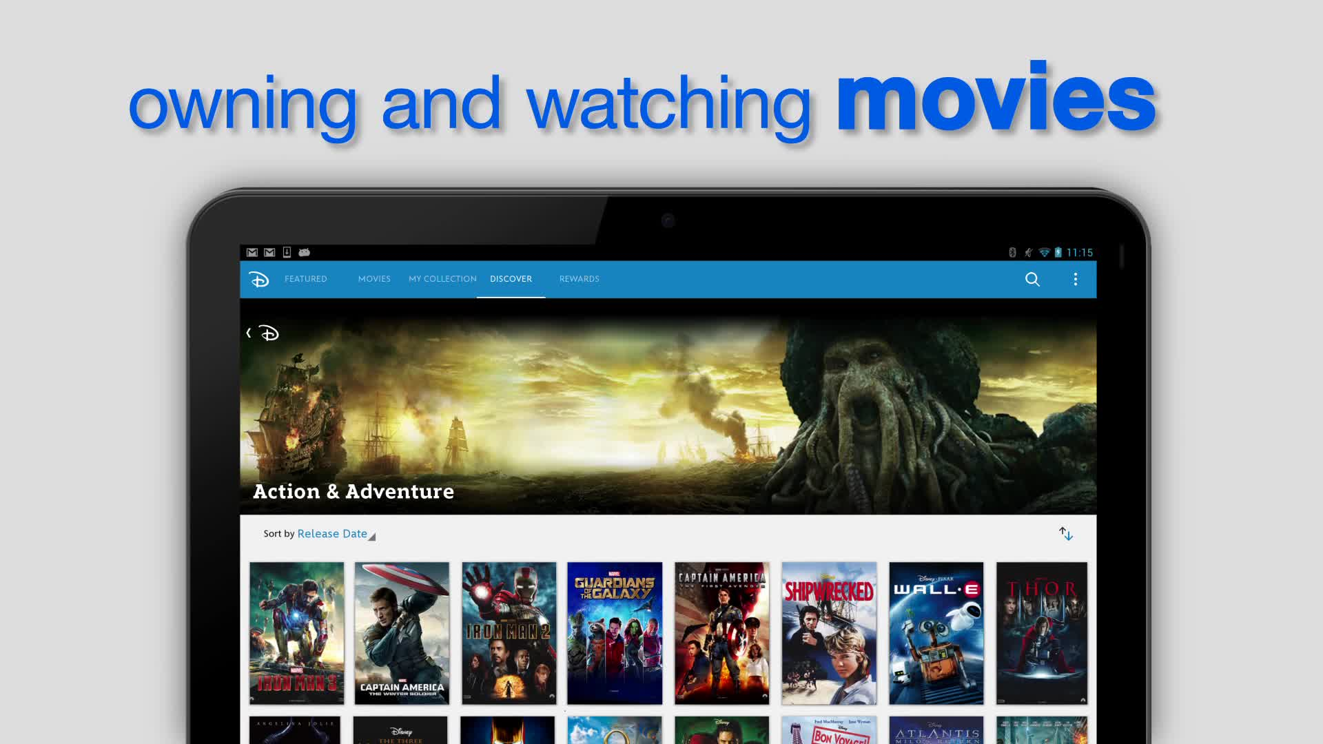 Watch your favorite Disney, Marvel and Pixar movies across your devices through Disney Movies Anywhere. Learn more: http://www.disneymoviesanywhere.com