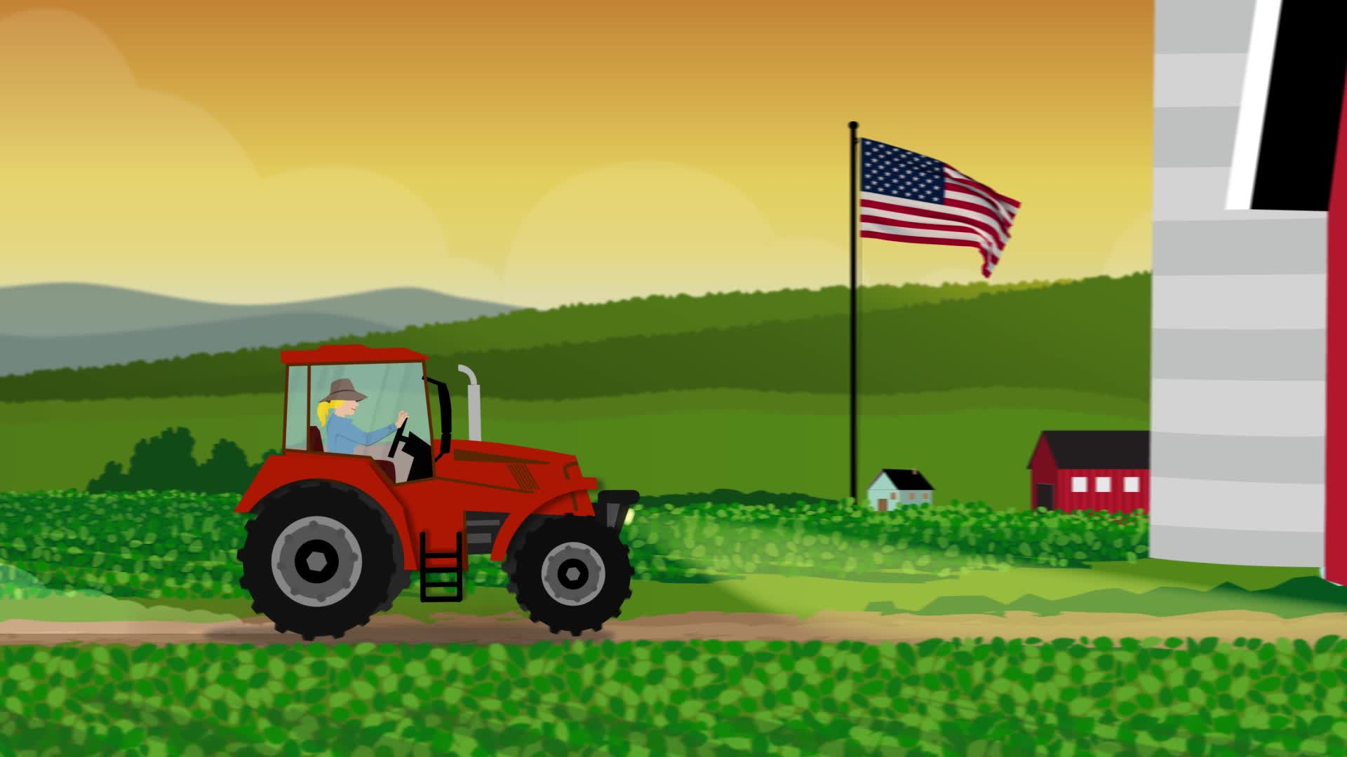 Support local farmers by purchasing vegetable oil made from U.S.-grown soybeans.