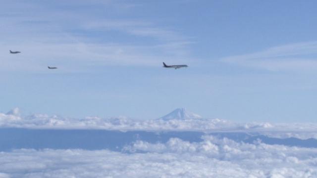 First flight of the Mitsubishi Regional Jet