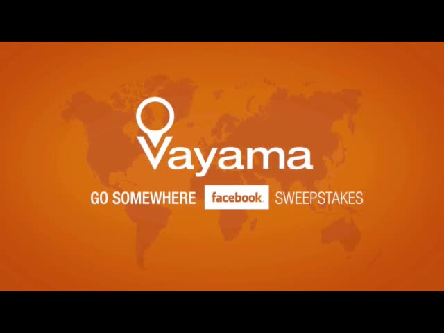 Vayama Announces Go Somewhere Sweepstakes on Facebook