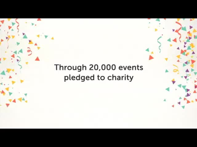 Evite and Pledgeling Celebrate $1 Million Raised for Thousands of Nonprofits in First Year of Evite Donations Partnership #1MillionTogether