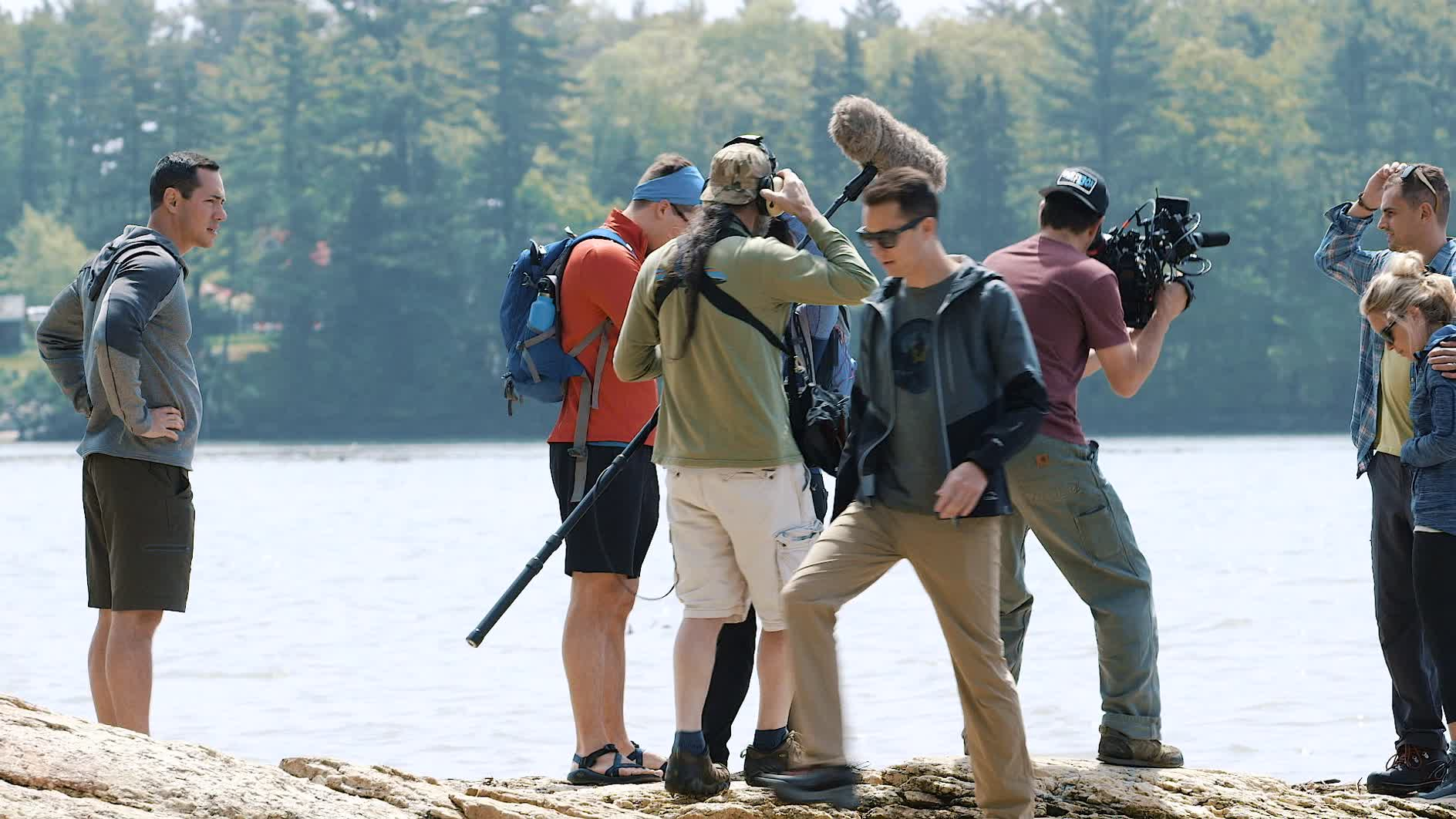 A group of six explorers set out for a weekend in Maine to capture the state's spirit of adventure and wanderlust.