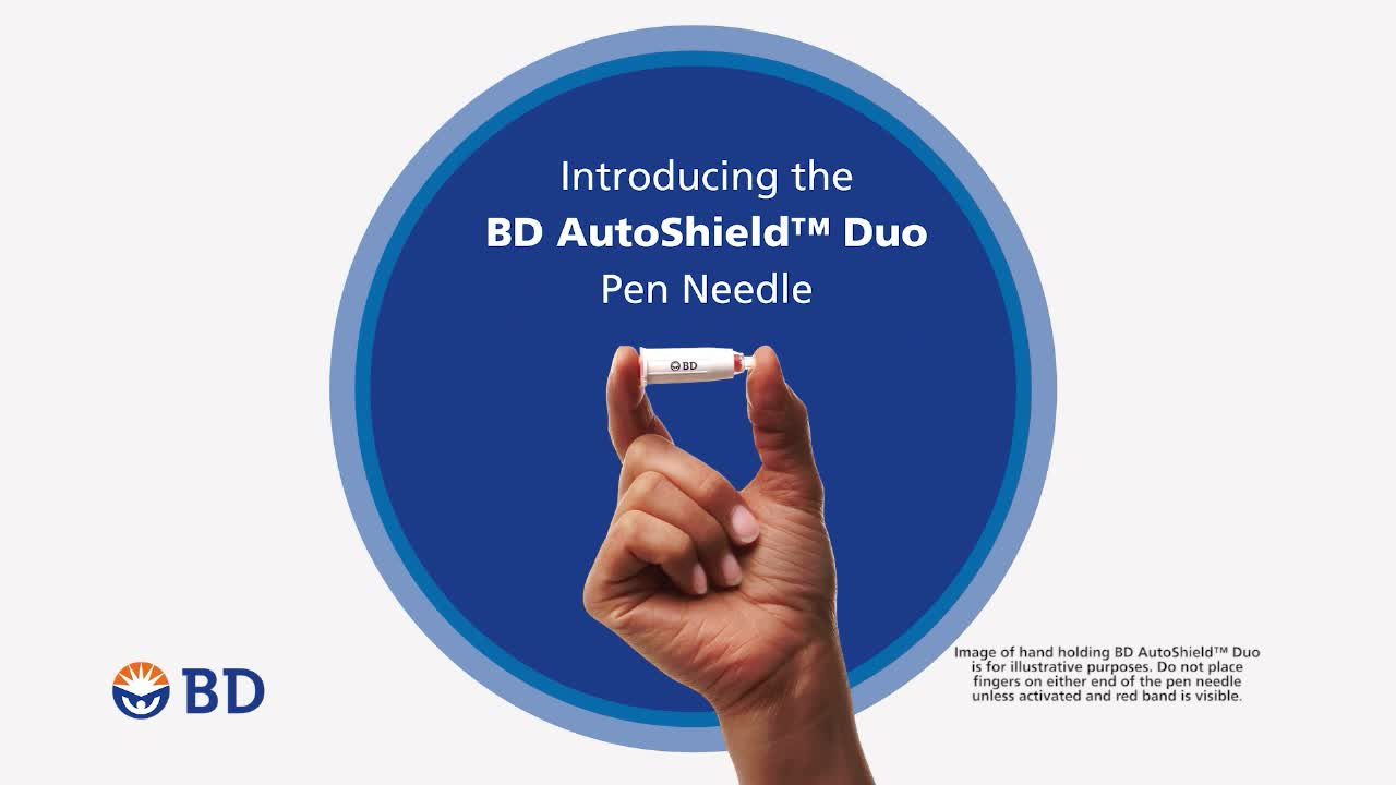 BD AutoShield(TM) Duo pen needle is now available through retail pharmacies for people with diabetes.