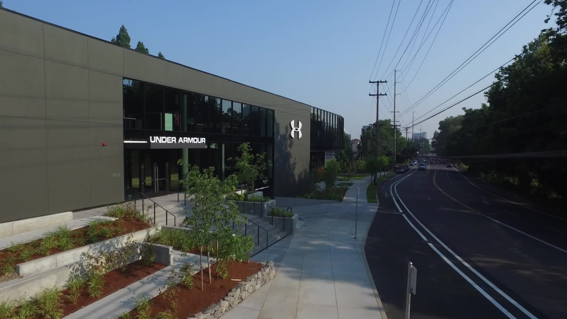 Footage of UA PDX Campus