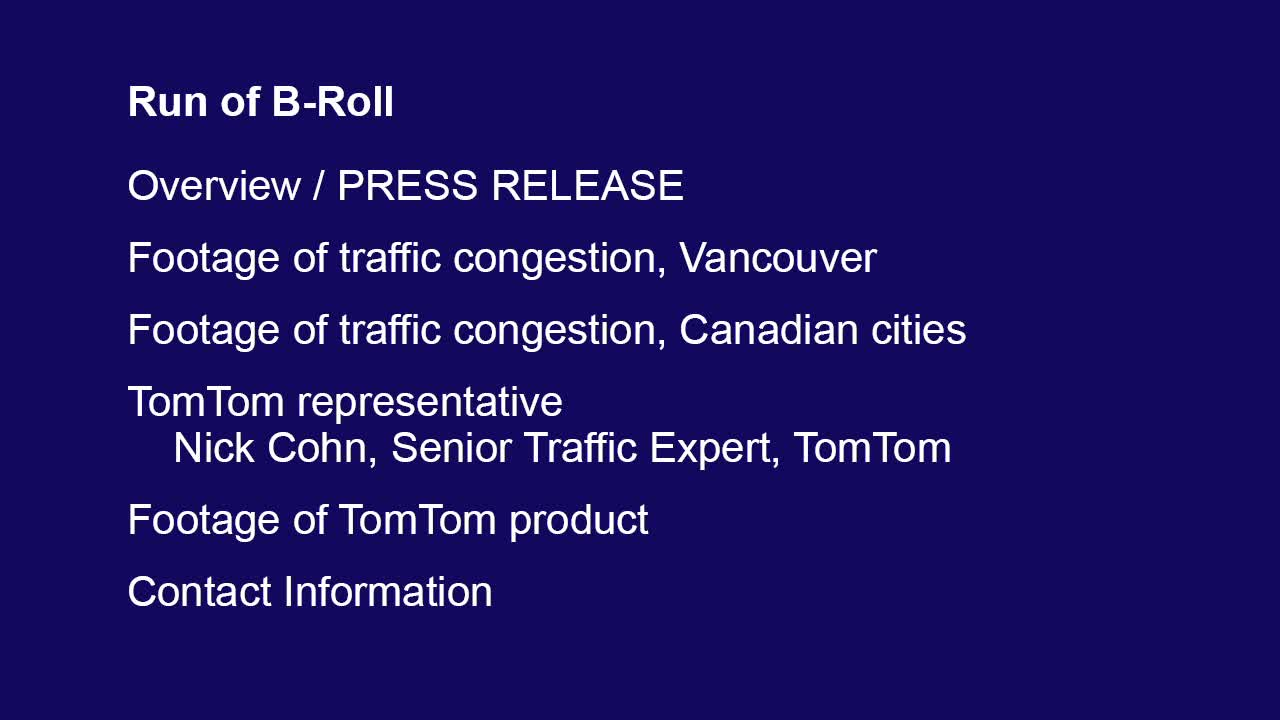 TomTom 2014 Traffic Index