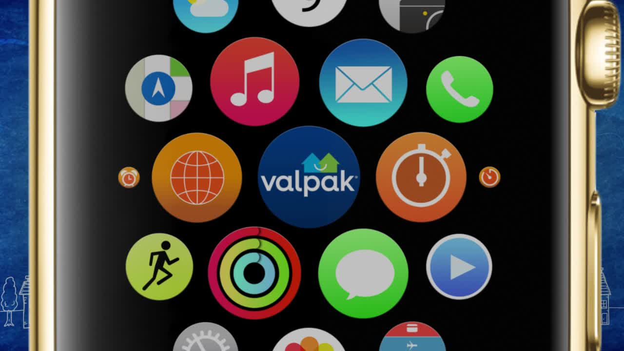 Valpak Launches Coupon App for New Apple Watch