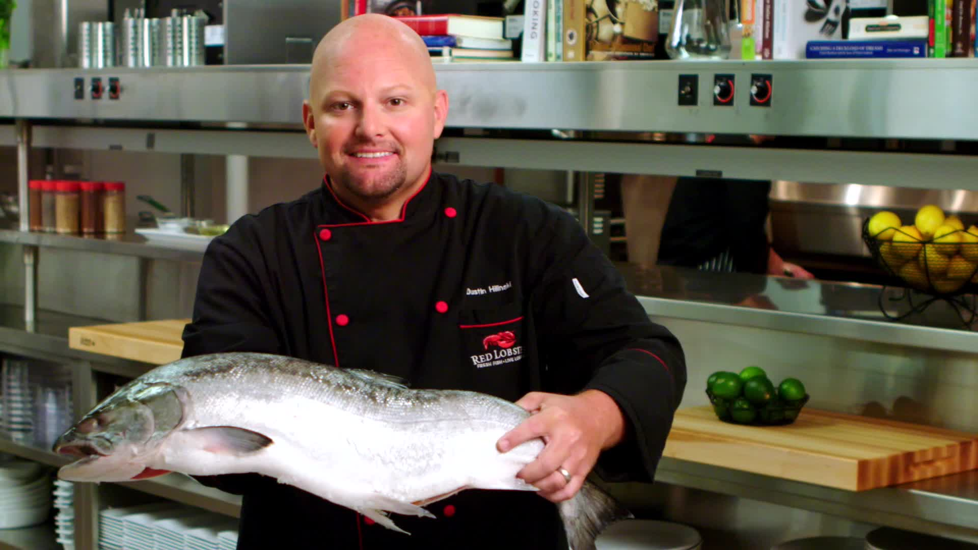 Chef Dustin Hilinski shares some fun facts about the new, fresh Wild-Caught Alaska Sockeye and Coho salmon that is being served now at Red Lobster. But hurry - this salmon is available only for a limited time while it is in season.